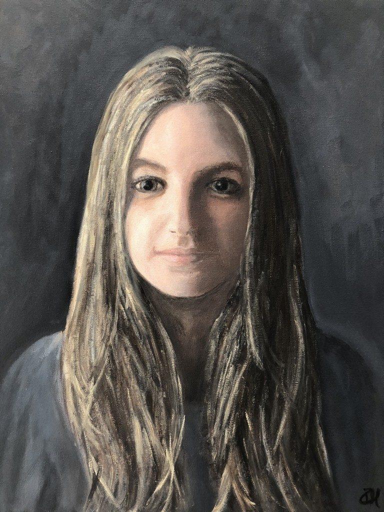 ANNABEL - oil on canvas - 40x50 cm