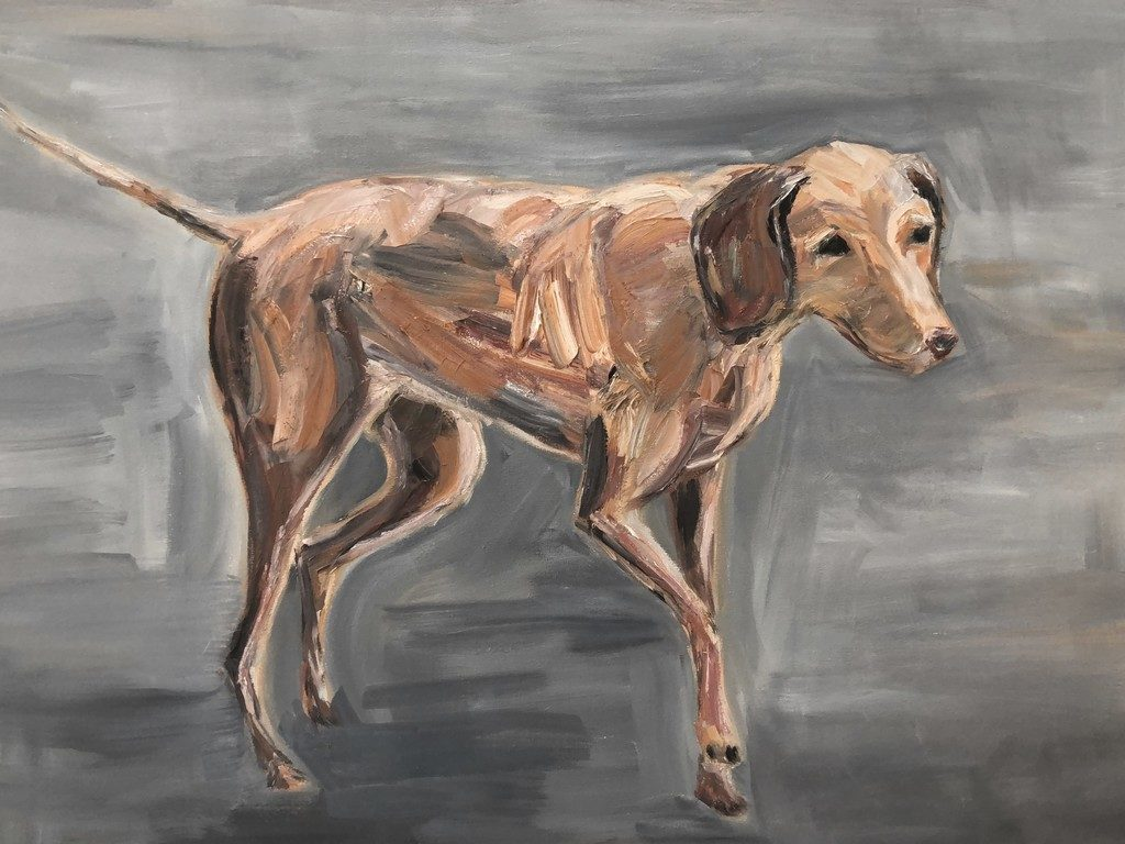 BEAST - oil on canvas - 50x70 cm