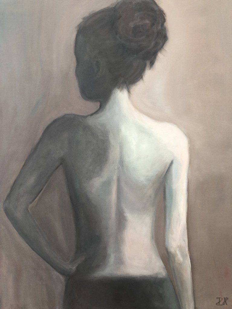 SELF - oil on canvas - 70x90 cm