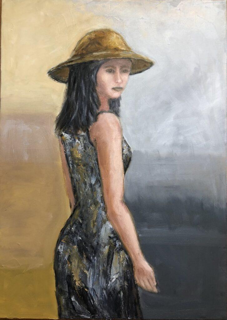 SUN - oil on canvas - 50x60 cm