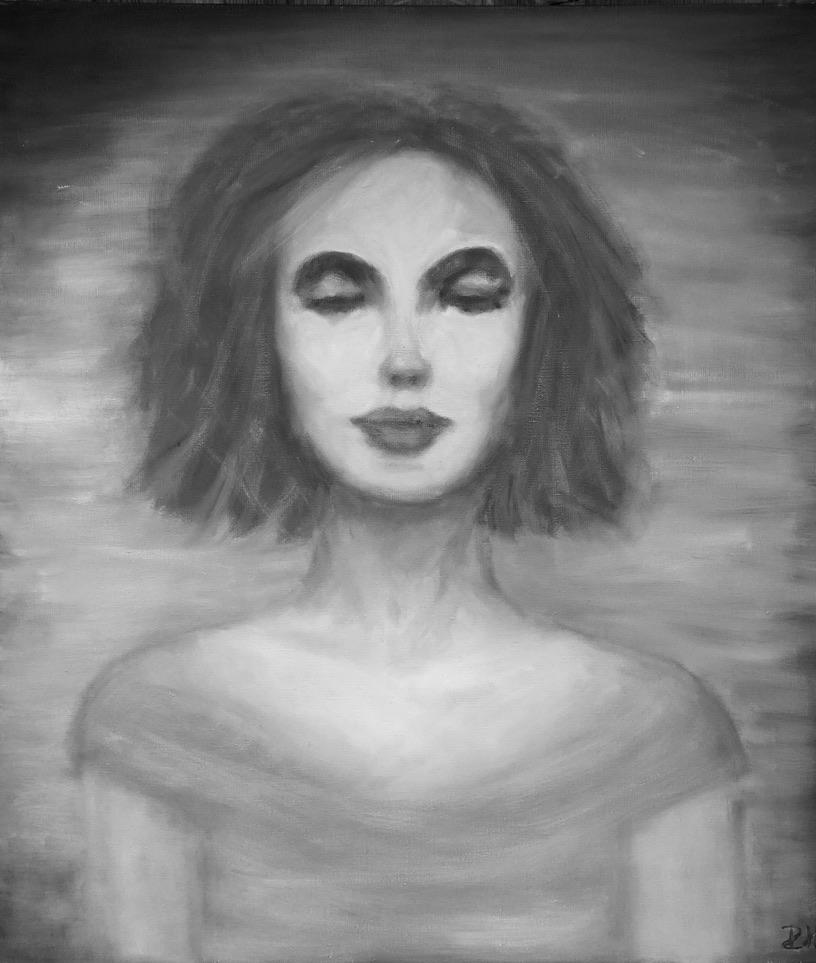 BLISS - oil on canvas - 70x80 cm