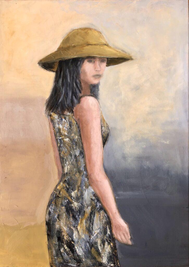 SUN - oil on canvas - 50x70 cm