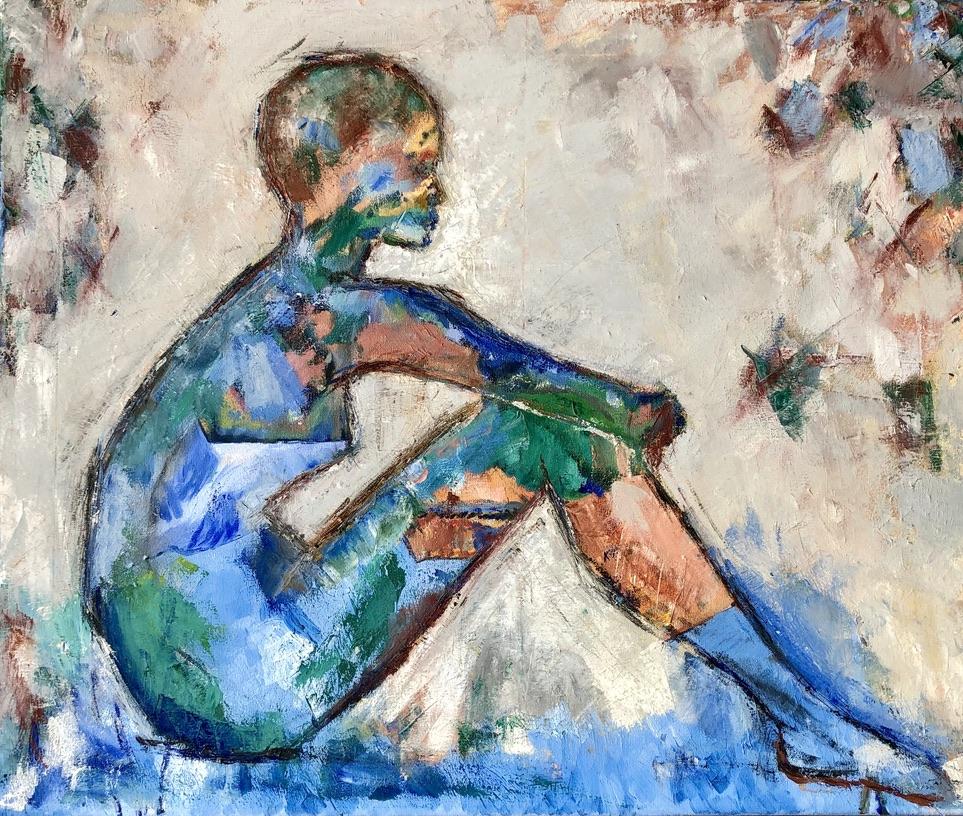 oil on canvas - 50x60 cm